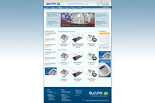 Planejamento completo de e-commerce on/off para Quark Medical